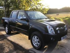 2011 ISUZU RODEO DENVER 2.5ltr TD 4x4 DOUBLE CAB PICK UP GENUINE 101k 1 OWNER