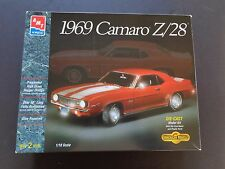 1969 Camero Z28 Metal Model Kit - 1/18 Scale - Built - Nice Condition - AMT/ERTL