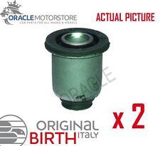 2 x BIRTH FRONT AXLE CONTROL ARM WISHBONE BUSH PAIR GENUINE OE QUALITY - 2526