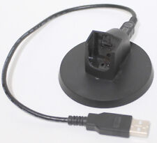 Sony PS3 wireless headset charging cradle and USB cable