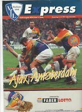 Vfl Bochum v. Ajax UEFA Cup 1997-1998