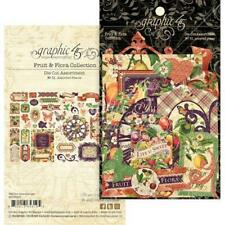 Graphic 45 Die-Cut Assortment - Fruit & Flora