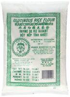 【Pack of 6】 Erawan Glutinous Rice Flour Green1Lb* 6   三象糯米粉 6袋   Free Shipping