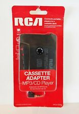 Rca Cassette Adapter for Mp3 or Cd Player to Car Stereo Hpca100Dr New Sealed