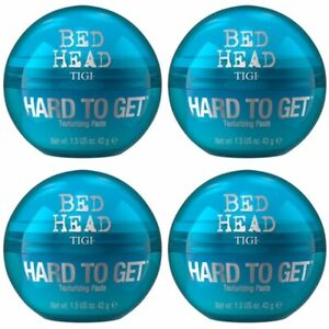 4 PACK!! TIGI BED HEAD HARD TO GET 1.5 OZ MATTE FINISH TEXTURIZING TEXTURE PASTE