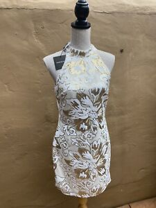 Ladies Summer Dress. Ladies Party Dress Size 14. Body Con Fitted Dress.