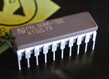 PAL16R6-7DC programmable array logic, AMD