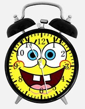 "SpongeBob SquarePants Alarm Desk Clock 3.75"" Home or Office Decor W129"