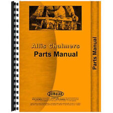 Fits Allis Chalmers U Un Uo Tractor With Continental Engine Parts Manual