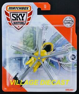 2020 Matchbox Sky Busters® #11 Airblade™ YELLOW / AIR TAXI / MOC