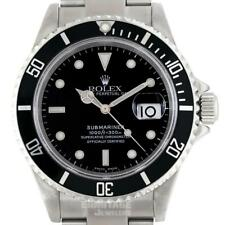 Rolex Submariner Mens Watch 16610 Box & Papers  2005