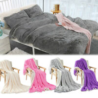 Large Soft Warm Throw Blanket Bed Sofa Fluffy Luxury Warm Protector Lambswool