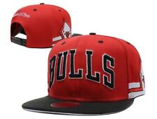 Chicago Bulls Mitchell & Ness NBA Cap Snapback Flat Cap: One Size Fits Most #1