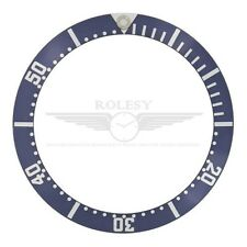Bezel Insert for Omega Seamaster 41mm Case 082SU1361 James Bond 007 Blue/Silver
