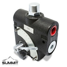 Hydraulic Adjustable Variable Flow Control Valve w/ Relief, 0-16 GPM, #8 SAE