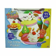 Jouet Fun pâte glace Usine Playing Dough avec accessoires & Moules NEUF