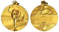 Fiera di Padova Medaglia Argento Dorata Generica Leone S. Marco ( Johnson)  §242