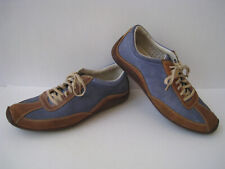 COLE HAAN AIR RYDER BLUE - TAN LEATHER SNEAKERS MEN SIZE US 10.5 SUPER HOT RARE