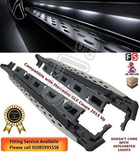 MERCEDES BENZ GLE COUPE C292 RUNNING BOARDS MERCEDES SIDE STEPS 100% OEM STYLE