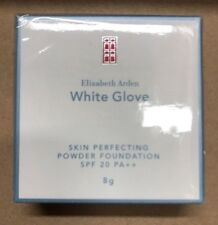 Elizabeth Arden White Glove Perfecting Powder Foundation SAND 8g /NEW IN BOX