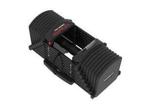PowerBlock PRO EXP 5-90 LB Adjustable Urethane Dumbbells Pair Set Stage 2&3 kit