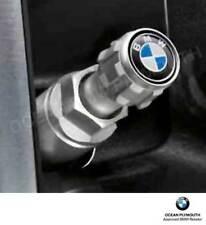 Genuine BMW Tyre Valve Caps, Set of 4, BMW Rondel 36122447401