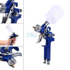 Car Auto Mini Air Paint Spray Gun 0.8mm HVLP Pneumatic Nozzle Gravity Feed Kit