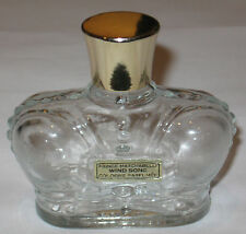Vintage Perfume Bottle Prince Matchabelli Wind Song Cologne - 2 OZ - Empty