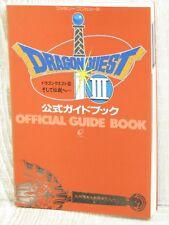 DRAGON QUEST III 3 Official Guide Book Famicom EX33