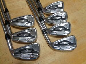 CALLAWAY Apex Pro Forged 16 4-PW IRONS IRON Set Project X LZ 6.0 S-Flex