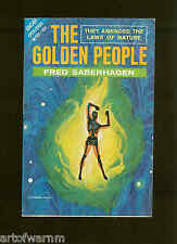 M-103  THE GOLDEN PEOPLE - F Saberhagen & EXILE FROM XANADU-I Wright  ACE Dbl SB