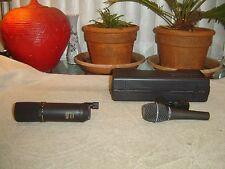 MXL V67 Mogami Condenser, & Samson Q Mic Dynamic, Microphone, 2 Total