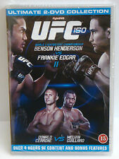 UFC 150 - Benson Henderson Vs Frankie Edgar DVD 2-Disc Ultimate Collection - NEW
