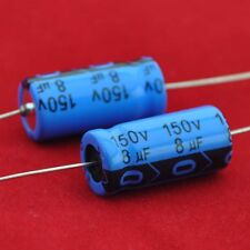 5pcs 150V 8uf Axial Electrolytic Capacitor for Audio Guitar Tube Amp DIY