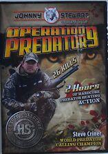 JOHNNY STEWART'S OPERATION PREDATOR 9 DVD 120 MINUTES 26 KILLS