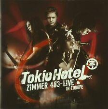 CD - Tokio Hotel - Zimmer 483 - Live In Europe - #A2536