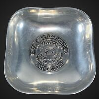 "Vintage Wilton Pewter United States House of Representatives Bowl USA 7.25""D 2""T"