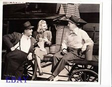 Ginger Rogers candid on set VINTAGE Photo Vivacious Lady Director Stevens