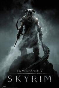 "The Elder Scrolls V: Skyrim - Gaming Poster / Print (Dragonborn) (24"" X 36"")"
