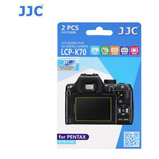 JJC LCP-K70 ultra hard polycarbonate LCD Film Screen Protector Fo Pentax K70 KS2