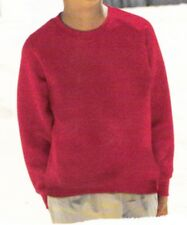 SWEAT SHIRT. ENFANT. FRUIT OF THE LOOM . HAUTE QUALITE. ROUGE. 12/13 ANS. NEUF