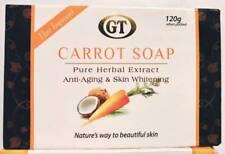 2 GT Carrot Soap Skin Body White Whitening Lightening Bleaching Herbal Extract