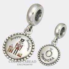 Authentic Pandora Silver Nutcracker Christmas Dangle Bead ENG791169_93