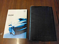 MAZDA 6 OWNER'S MANUAL, HANDBOOK, HAND BOOK, 2002