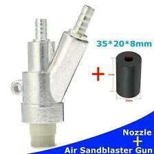 Stainless Steel Air Sandblaster Gun Kit Spray Gun 35mm Boron Carbide nozzle Kit