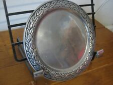 Retro Bruce Fox Design Pewter Plate - Wilton Columbia(With Makers & Design Seal)