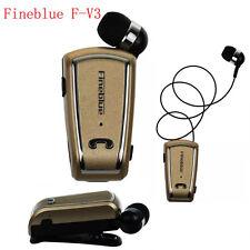 FINEBLUE F-V3 Wireless Bluetooth V4.0 Headphone Call Vibration with Clip Headset