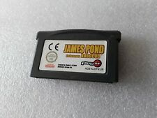 JAMES POND  CODENAME ROBOCOD  advance   Gameboy Advance Gba loose EUR