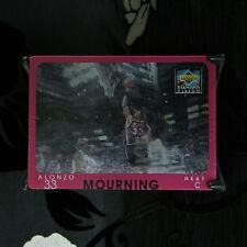 Alonzo deuil Upper Deck 1996-97 Diamond Vision CARD #14 NBA Basketball Presque comme neuf