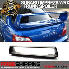 Fit 02-07 Subaru Impreza WRX STI OE Factory ABS Trunk Spoiler Unpainted